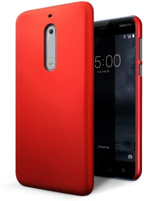 SHINESTAR. Back Cover for Nokia 5 Red