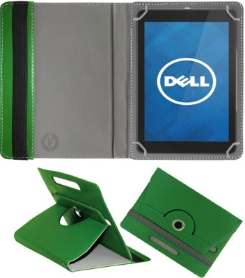 Fastway Book Cover for Dell Venue 8 16GB(Green, Cases with Holder)