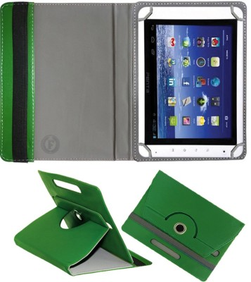 Fastway Book Cover for BSNL Penta T-Pad IS801C 8inch(Green, Cases with Holder)