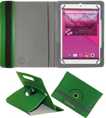 Fastway Book Cover for Alcatel POP 8S Android Tab(Green, Cases with Holder)