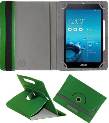 Fastway Book Cover for Asus fonepad 8fe380 CG(Green, Cases with Holder)