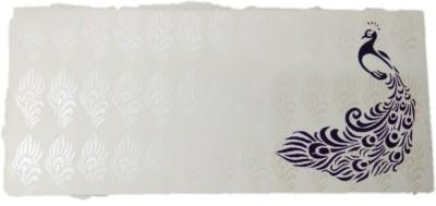 Shreeji Decoration Printed Paper Gift Peacock Theme Envelope Envelopes(Pack of 5 Multicolor)  available at flipkart for Rs.128