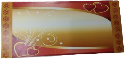 Shreeji Decoration Printed Paper Gift Heart Theme Envelope Envelopes(Pack of 25 Multicolor)  available at flipkart for Rs.114