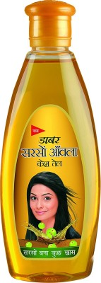 Dabur SARSON AMLA HAIR OIL 200ml PACK OF 2 Hair Oil(400 ml)