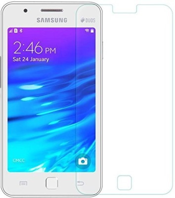 Jaune Tempered Glass Guard for Samsung Galaxy Z1(Pack of 1)
