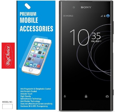 BigChoice Tempered Glass Guard for Sony Xperia XA1 Plus, Sony Xperia XA1 Plus, :XA1 Plus(Pack of 1)