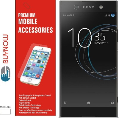 Buynow Tempered Glass Guard for Sony Xperia XA1 Ultra Dual(Pack of 1)