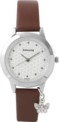 Sonata 8019SL02  Analog Watch For Girls