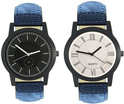 Naksh Fashion FOX-M-415-420 Designer Stylish Watch combo With Fancy Dial And Belt Watch  - For Men   Watches  (Naksh Fashion)