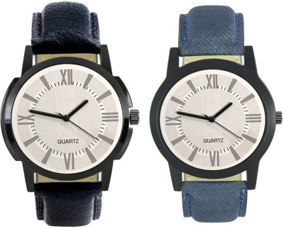 Naksh Fashion FOX-M-418-421 Designer Stylish Watch combo With Fancy Dial And Belt Watch  - For Men   Watches  (Naksh Fashion)