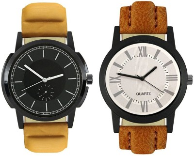 Naksh Fashion FOX-M-414-422 Designer Stylish Watch combo With Fancy Dial And Belt Watch  - For Men   Watches  (Naksh Fashion)
