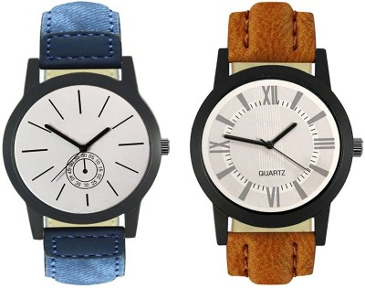 Naksh Fashion FOX-M-410-422 Designer Stylish Watch combo With Fancy Dial And Belt Watch  - For Men   Watches  (Naksh Fashion)