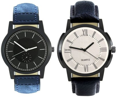 Naksh Fashion FOX-M-415-418 Designer Stylish Watch combo With Fancy Dial And Belt Watch  - For Men   Watches  (Naksh Fashion)