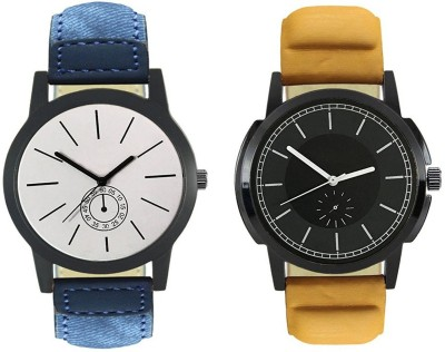Naksh Fashion FOX-M-410-414 Designer Stylish Watch combo With Fancy Dial And Belt Watch  - For Men   Watches  (Naksh Fashion)