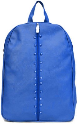 View Bags Beautiful zip 8 L Backpack(Blue)  available at flipkart for Rs.299