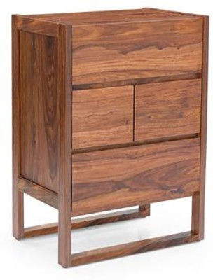 The Jaipur Living Solid Wood Bar Cabinet(Finish Color - Brown)