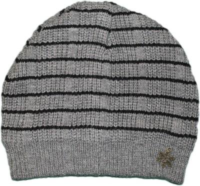 Noise Striped Skull Cap Cap