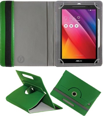 Fastway Book Cover for Asus Fonepad 8 FE380CG(Green, Cases with Holder)