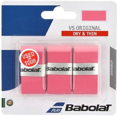 BABOLAT VS ORIGINAL X3 Tacky Touch Pink, Pack of 3 BABOLAT Tennis Racquet Grips