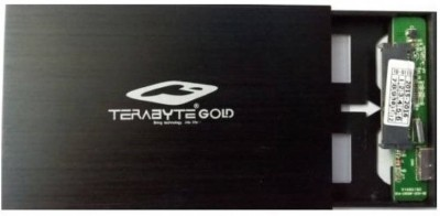 Terabyte Black USB 3.0 Hard Drive Casing 2.5 inch Inch Internal HDD Enclosure(For 2.5 Inch Sata Hard Drive, Black)