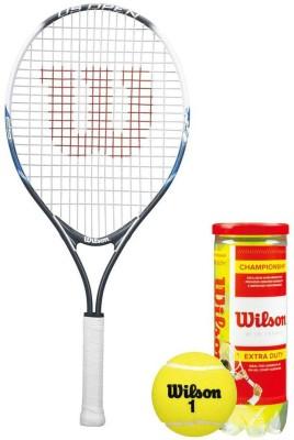 Wilson Racquet and Ball Tennis Kit (US Open 25