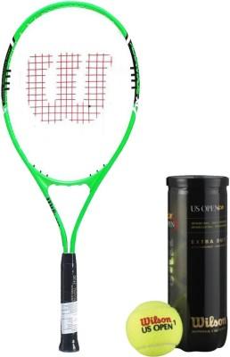 Wilson Racquet and Ball Tennis Kit (Advantage XL 3 Tennis Racquet for Adults + US Open Tennis Ball, pack of 3) Tennis Kit  available at flipkart for Rs.2246