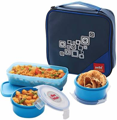 Cello Regent 3 Containers Lunch Box