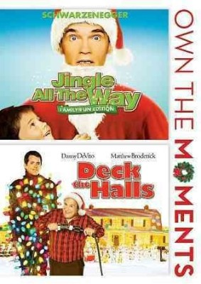 JINGLE ALL THE WAY/DECK THE HALLS(DVD English)  available at flipkart for Rs.2167