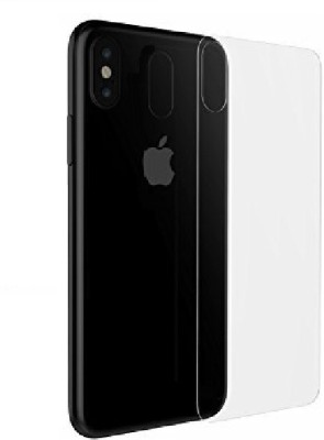 S-Design Back Screen Guard for Apple iPhone X(Pack of 1)