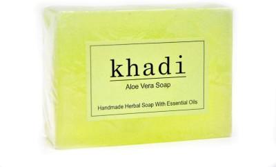 Khadi Herbal Aloe Vera Soap 125gm(125 g)  available at flipkart for Rs.75