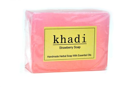Khadi Strawberry Soap 125 GM
