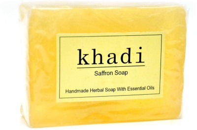 Khadi Herbal Saffron Soap 125gm(125 g)