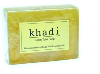Khadi Herbal Neem-Tulsi Soap 125gm(125 g)