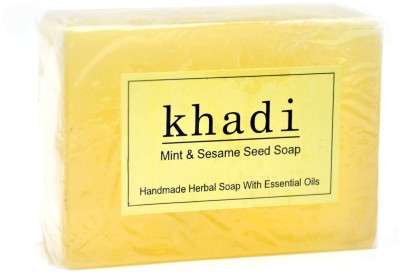 Khadi Mint & Sesame Seed Soap 125 GM