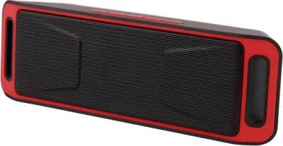 VibeX ® Portable Wireless Speakers Up to 8 Hours, HD Stereo Sound and Superior Bass Bluetooth Speaker(Red, Black, Mono Channel)