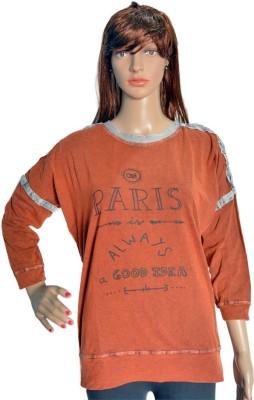 c0aa3ca90a View RBD 3 4th Sleeve Printed Women s Sweatshirt Price Online