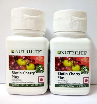 Amway Nutrilite Biotin Cherry Plus Pack Of 2(120 No)