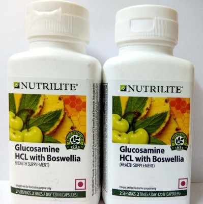 Amway Nutrilite Glucosamine Hcl With Boswellia Pack Of 2(240 mg)