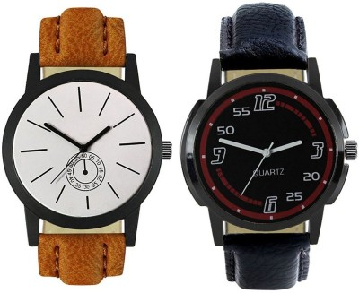 Naksh Fashion FOX-M-412-423 Designer Stylish Watch combo With Fancy Dial And Belt Watch  - For Men   Watches  (Naksh Fashion)