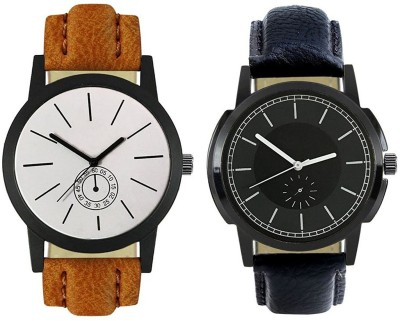Naksh Fashion FOX-M-412-413 Designer Stylish Watch combo With Fancy Dial And Belt Watch  - For Men   Watches  (Naksh Fashion)