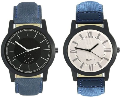 Naksh Fashion FOX-M-416-420 Designer Stylish Watch combo With Fancy Dial And Belt Watch  - For Men   Watches  (Naksh Fashion)