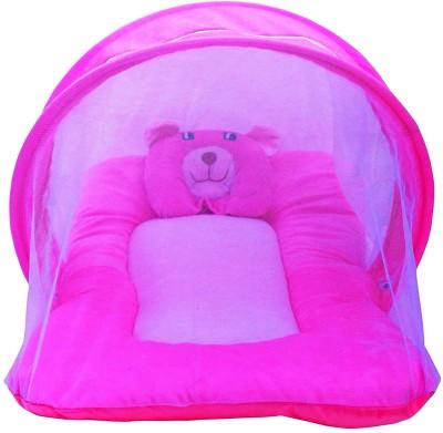 Nagar International baby mattress pink mt-20 Polyester Bedding Set(Pink)
