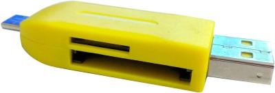 Faas LB-201 Micro Card Reader(Multicolor)