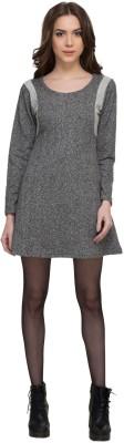 Rare Women A-line Grey Dress