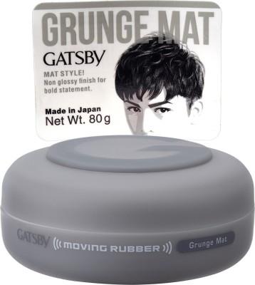 Gatsby Moving Rubber-Grunge Mat 80g Hair Styler
