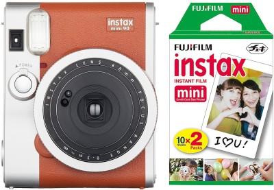 View Fujifilm Instant Camera Mini 90 Neo Classic Instant Camera(Brown)  Price Online