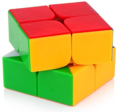 M-Alive Quality Speedy 2x2 High Speed Stickerless Rubik Magic Puzzle Cube(1 Pieces)  available at flipkart for Rs.199