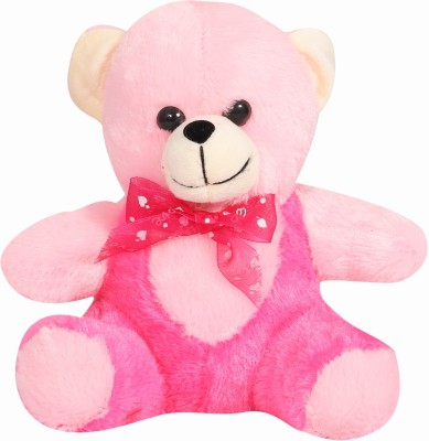 Adda99 Stuffed Soft Plush Toy Kids cute Teddy Bear (Pink)- (22x18x10)  - 22 cm(Pink)  available at flipkart for Rs.199
