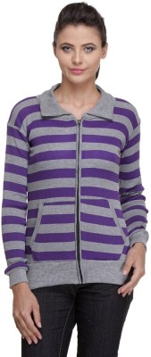 TeeMoods Full Sleeve Striped Women Sweatshirt TeeMoods Women's Sweatshirts