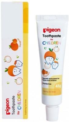 Pigeon Children (ORANGE) Toothpaste Toothpaste(45 g)
